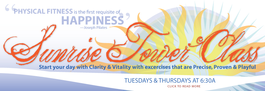 Sunrise Tower Pilates With Pamela Franco